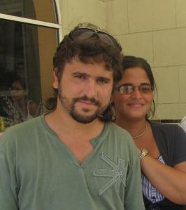 Elizabeth Mirabal y Carlos Velazco (Foto: Joel Martínez)