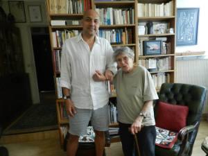 Armando Valdes-Zamora y Gina Pellón (Foto cortesía del autor)