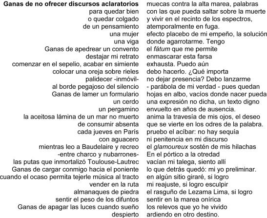 Michell Pérez Acosta - Poesia PDF del ultimo poema