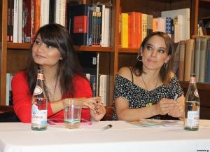 Sandra de la Torre Guarderas y Marialuz Albuja Bayas (Foto: Ernesto G.)