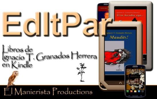 Pinchar en la imagen para acceder a los libros de Ignacio T. Granados Herrera  en el sistema Kindle.