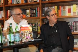Enrique Del Risco y Ramón Fernández-Larrea  (Foto: Ernesto G.)
