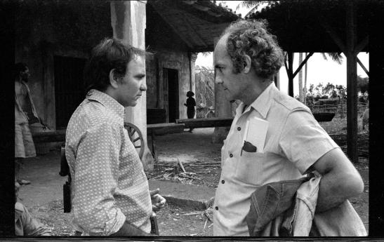 Mario García Joya y Tomás Gutierrez Alea (Titón) (Foto cortesía de M. G. J.)