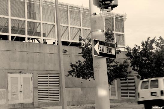 One way (Foto: Ernesto G.)