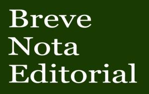 Nota Editorial