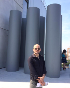 Cepp Selgas (Foto de  Reinaldo García Ramos) 2015 /  The Whitney Museum of American Art, new building, at the 8th floor Terrace.