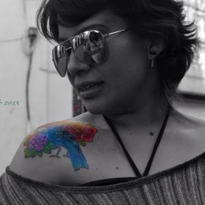 Aída Chacón (Foto cortesía de la autora)