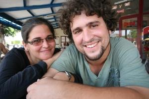 Elizabeth Mirabal y Carlos Velazco (Foto de Ernesto Fernandez)