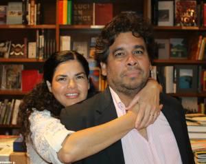 Flor y Francisco Larios (Foto cortesía del autor)