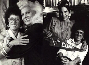 Con Ninón Sevilla y Rosa Carmina, 1989
